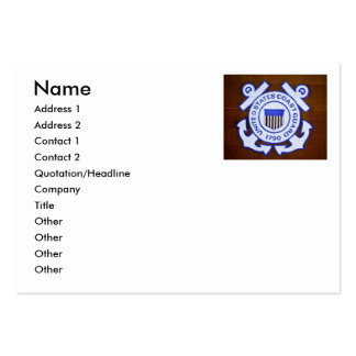 USCGC Bramble (WLB-392) Business Card Template