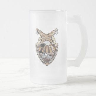 USCGC Diamondback WPB-87370 Frosted Glass Beer Mug