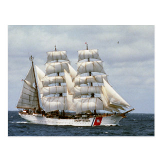USCGC Eagle Postcard