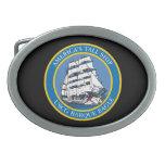 USCGC Eagle WIX-327 Belt Buckle