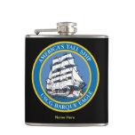 USCGC Eagle WIX-327 Flask