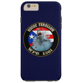 "USCGC Farallon WPB-1301 ""azules marinos "" Funda De iPhone 6 Plus Tough"