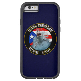 "USCGC Farallon WPB-1301 ""Navy Blue"" Tough Xtreme iPhone 6 Case"