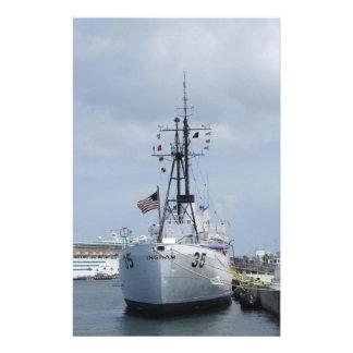 USCGC Ingham Custom Stationery