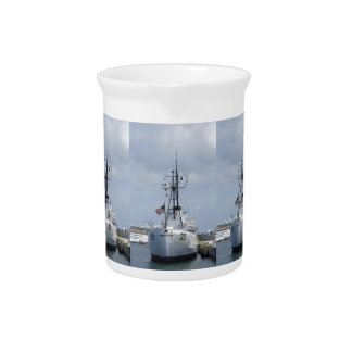 USCGC Ingham Drink Pitcher