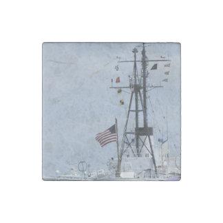 USCGC Ingham Stone Magnet
