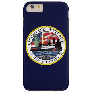 """USCGC Line WYTL-65611  """"Navy Blue"""" Tough iPhone 6 Plus Case"""