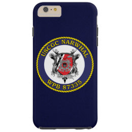"USCGC Narwhal WPB-87335 ""Navy Blue"" Tough iPhone 6 Plus Case"