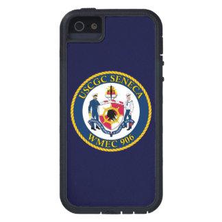 """USCGC Seneca WMEC-906 """"Navy Blue"""" iPhone 5 Covers"""