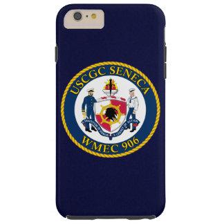 "USCGC Seneca WMEC-906 ""Navy Blue"" Tough iPhone 6 Plus Case"