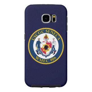"USCGC Seneca WMEC-906 ""Navy Blue"" Samsung Galaxy S6 Cases"
