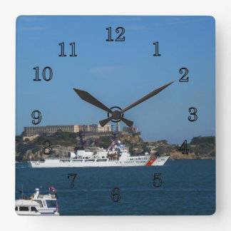 USCGC Sherman Square Wall Clock