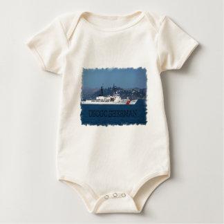 USCGC Sherman Baby Bodysuit