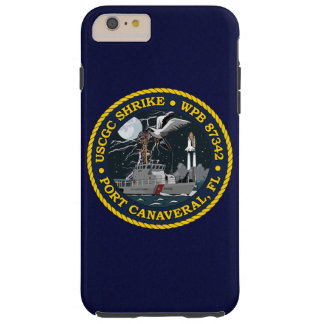 "USCGC Shrike WPB-87342 ""Navy Blue"" Tough iPhone 6 Plus Case"