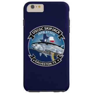 "USCGC Skipjack WPB-87353 ""Navy Blue"" Tough iPhone 6 Plus Case"