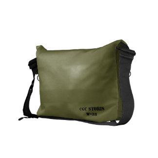 USCGC STORIS retro military bag Messenger Bag