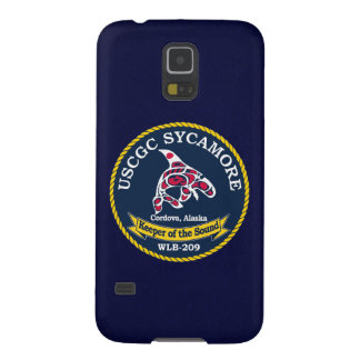 "USCGC Sycamore WLB-209 ""Navy Blue"" Cases For Galaxy S5"