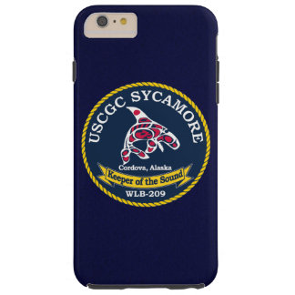 "USCGC Sycamore WLB-209 ""Navy Blue"" Tough iPhone 6 Plus Case"