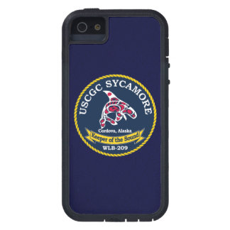 "USCGC Sycamore WLB-209 ""Navy Blue"" iPhone 5 Cover"