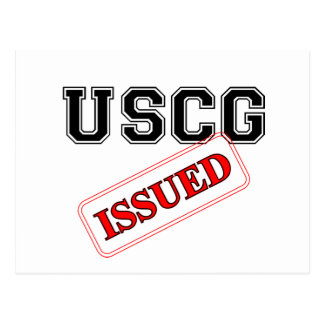 uscgissued postcard
