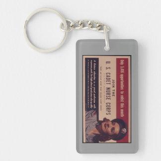 USCNC Recruitment Poster Keychain Acrylic Key Chains