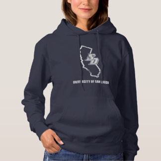 USD   Vintage California State Logo Hoodie