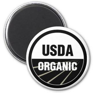 USDA Organic 2 Inch Round Magnet