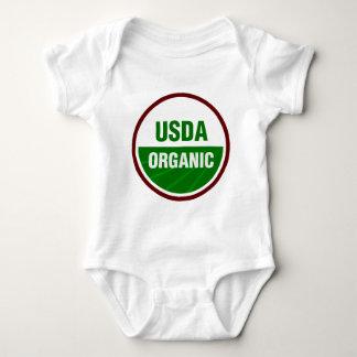 USDA Organic certificate Baby Bodysuit