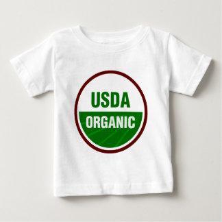 USDA Organic certificate T-shirt