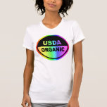 USDA PSICODÉLICO    (mujeres) Tee Shirts