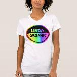 USDA  PSYCHEDELIC    (Women) Tee Shirts