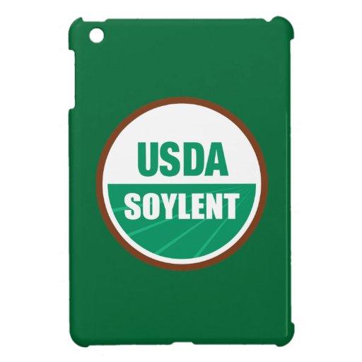 USDA Soylent - mini caso del iPad divertido de la  iPad Mini Funda