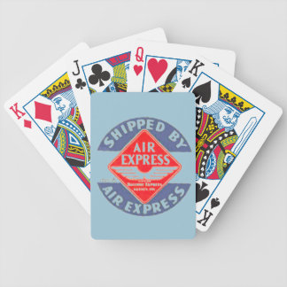 Use Air Express by Railway Express Agency Bicycle Playing Cards