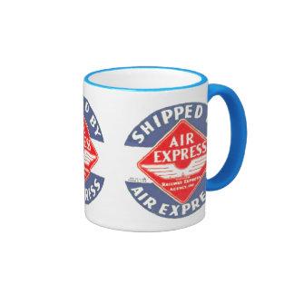 Use Air Express by Railway Express Agency Mugs