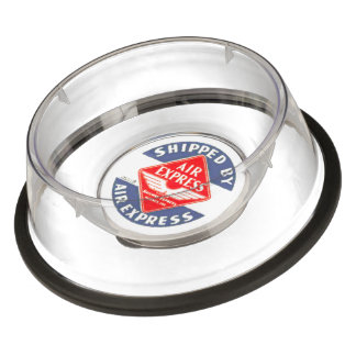Use Air Express by Railway Express Agency Pet Bowl