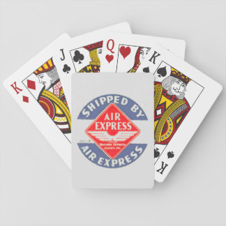 Use Air Express by Railway Express Agency Playing Cards