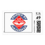 Use Air Express by Railway Express Agency Postage