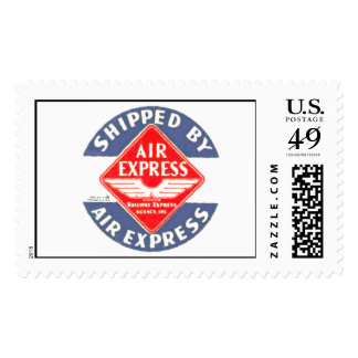 Use Air Express by Railway Express Agency Postage Stamp