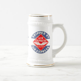 Use Air Express by Railway Express Agency Stein 18 Oz Beer Stein