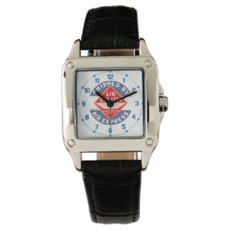 Use Air Express by Railway Express Agency Watches