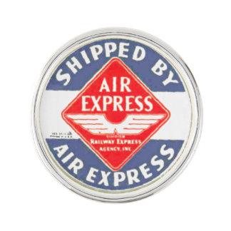 Use Air Express-Railway Express Agency Lapel Pins