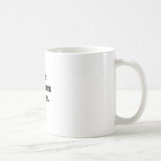 USE CONDOM SENSE CLASSIC WHITE COFFEE MUG