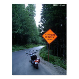 Use Extreme Caution Postcard