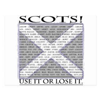 Use it or Lose it Postcard