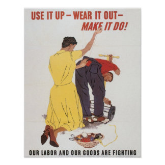 Use It Up WWII Print