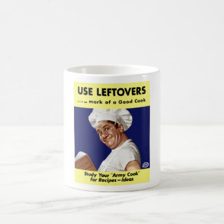 Use Leftovers -- WWII Coffee Mug