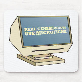 Use Microfiche Mouse Pad
