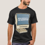Use Microfiche T-Shirt