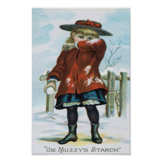Use Muzzy's Starch Poster