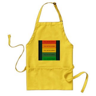 Use No Fear Adult Apron